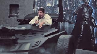 مذيع الشارع| مغامرة أحمد رأفت في العرض الاول لفيلم Batman VS Superman