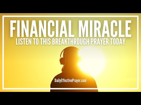 Prayer For Financial Miracle | Give and You Shall Receive | Breakthrough Money Prayers