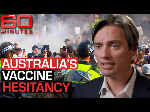 Australia's COVID Vaccine Hesitancy: Why waiting is the worst thing we can do   60 Minutes Australia