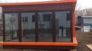 видео Изготовление быстровозводимых торговых павильонов под ключ!