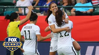 All 3 Points: It wasn't pretty, but the USWNT advanced
