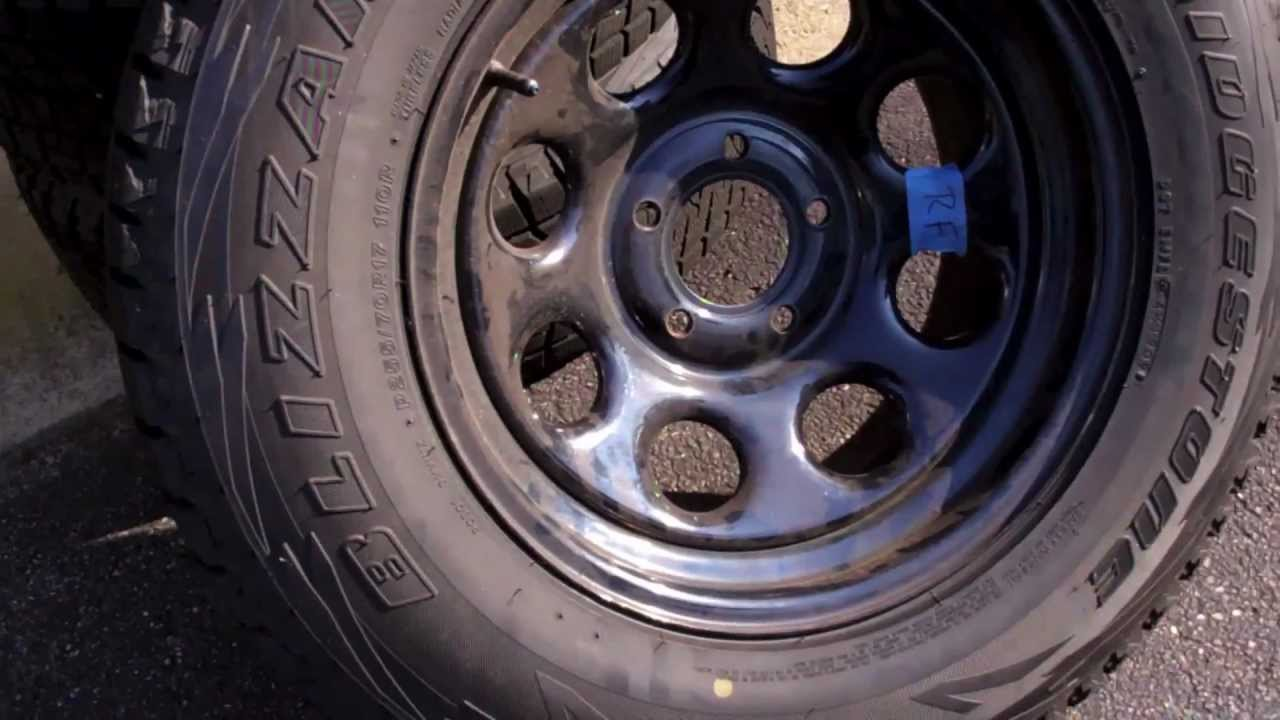 how to jeep grand cherokee wheel change oversize tire swap 2005 2010 wk youtube. Black Bedroom Furniture Sets. Home Design Ideas