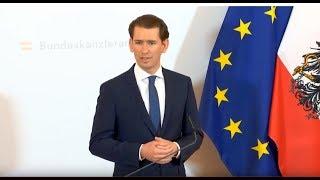 LIVE: Austrian Chancellor Kurz delivers statement amid ongoing political scandal
