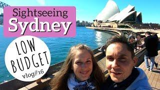 Wir zeigen euch SYDNEY / Low Budget - Sightseeing / Weltreise-Vlog #16