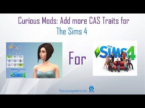 Curious Mods: Add More CAS Traits (Sims 4) - YouTube