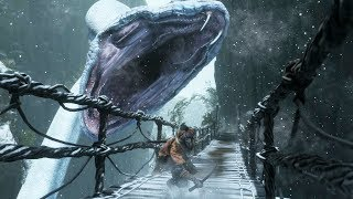 Sekiro: Great Serpent Boss Fight (World