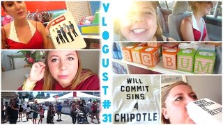 THE VLOGUST SEASON FINALE: Street Fairs & School Supplies & Boxed Water, OH MY   Vlogust 31, 2014