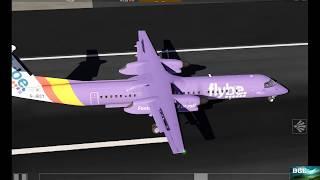 Aerofly 2019 Dash 8 Landing (742)