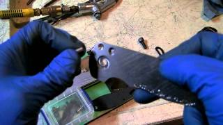 Knifemaking Tuesdays Week 10 - Making test blades for button lock tolerances
