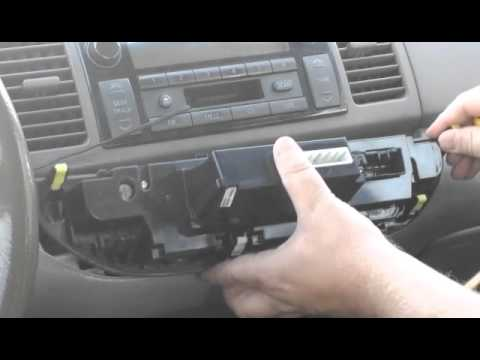How To Replace Dash Lights 2002 2003 2004 Toyota Camry Maybe Other Years