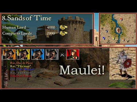 8. Sands of Time - Arabian Swordsman Party! | Stronghold Crusader