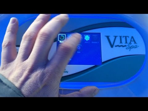 Vita Spa: New controls and fancy lights