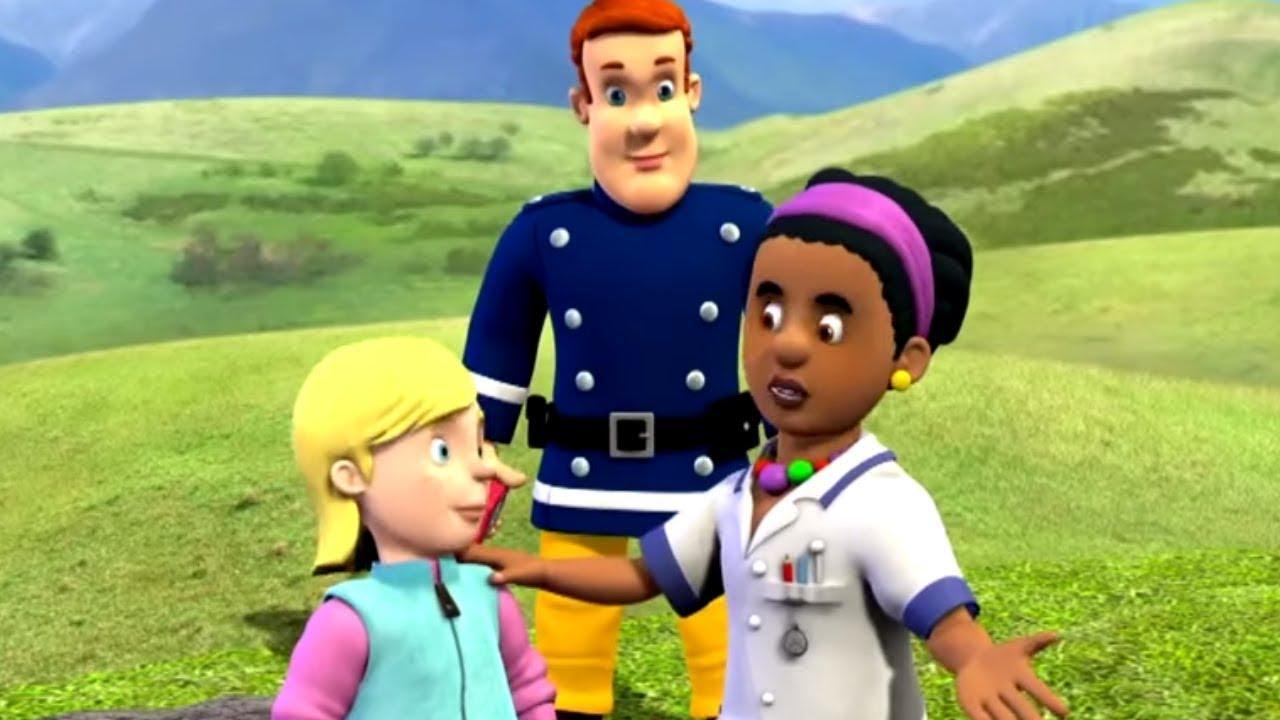 حلقات جديدة من اطفاء سام  | دقيقة من الحلقات الجديدة  | سام رجل الاطفاء