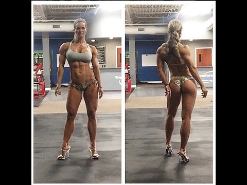 [ Holly Mitchell ] IFBB Figure Pro Women Amazing Workout and Body Performance