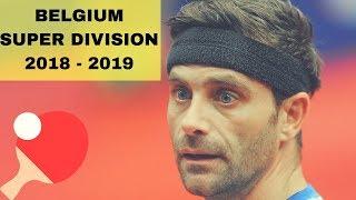 SONNET Frederic - DORAN Chris SUPER DIVISION 2018 2019 TABLE TENNIS
