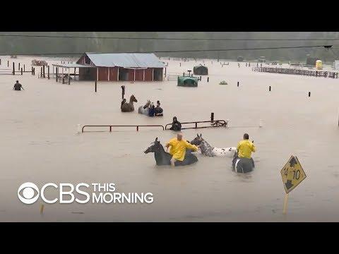 Residents In Hard-hit Winnie, Texas, Say Imelda Is Worse Hurricane Harvey