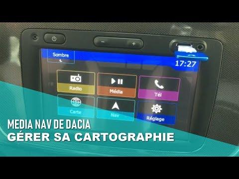 Mise à jour et achat de carte(s) sur Media Nav (Dacia) - YouTube