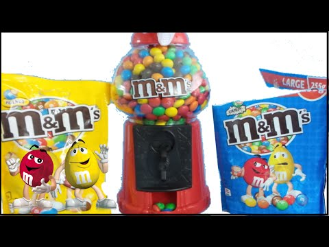 M&M's Gumball Machine | Candy Dispenser unboxing