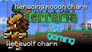 Xbox 360 Terraria Menacing Moon charm, Blood moon and Eye of Cthulhu