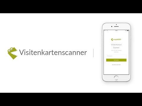 Visitenkartenscanner Für Crm Apps Bei Google Play