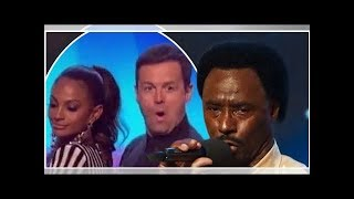 Britain's Got Talent: Dec Donnelly's face is a picture as Alesha Dixon TWERKS on him during golde...