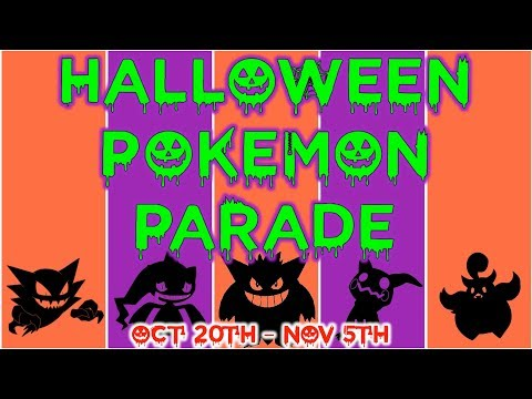 Download Youtube: Halloween Pokémon Parade (Oct 20th - Nov 5th)