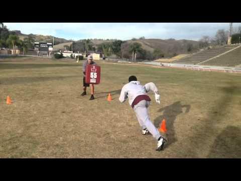 Wide Receiver Drills - Coach Ryan O