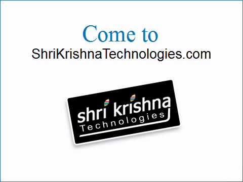 Web Design Company| Shri Krishna Technologies