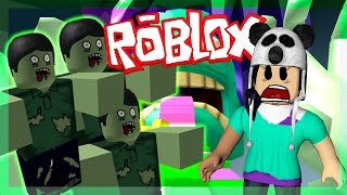 FUJA DO ZUMBI PELO PARKOUR 😎 | Roblox (Escape The Zombie Obby)