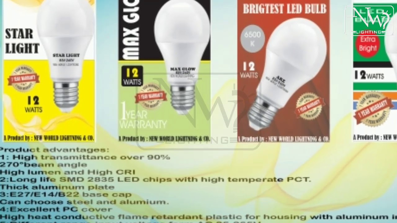 Led Bulb Raw Spare Parts Avilable In Pakistan Nw Lights Youtube