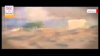"""תיעוד: ירי טיל לעבר ג'יפ צה""""לי בגבול עזה"""
