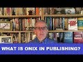 What is ONIX in publishing?
