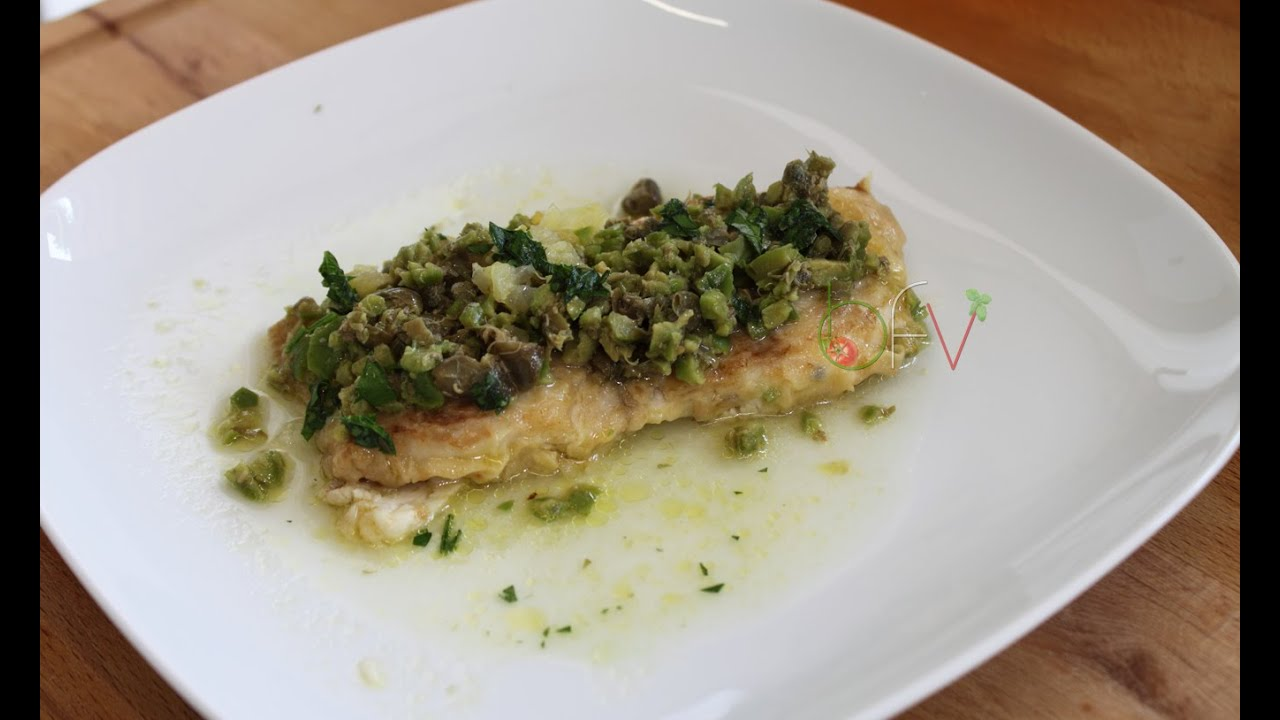 Filetti Di Pesce Persico Alla Mediterranea Buono Facile Veloce