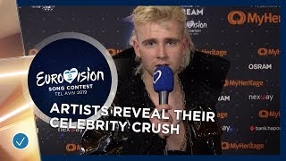 Eurovision Question: Who is or was your celebrity crush?
