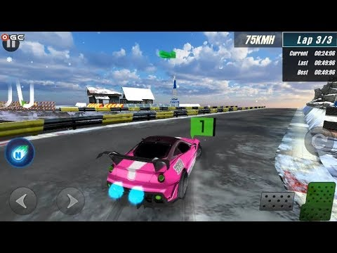 Ice Rider Racing Cars - Winter Speed Car Race - Android Gameplay FHD #2