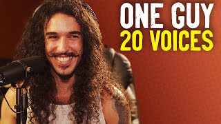One Guy, 20 Voices (Michael Jackson, Post Malone, Roomie \\u0026 MORE)