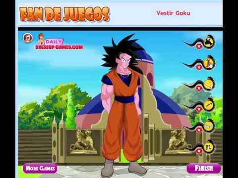 Vestir Goku Sin Ropa