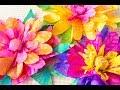 Gelli Arts® Printed Coffee Filter Flowers