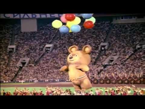 Прощание мишки (Закрытие Олимпиады в Сочи 2014)