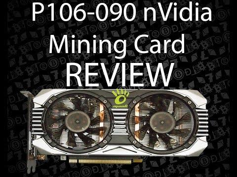 NVidia P106-090 Mining Card Review (Manli)