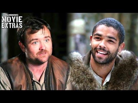 King Arthur: Legend of the Sword  Onset visit with Kinglsey BenAdir & Neil Maskell
