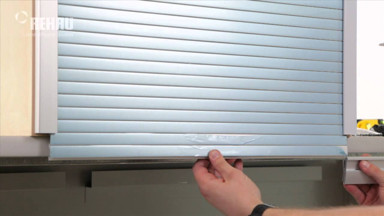 Installing A C3 Tambour Door System With Aluminum Track Youtube