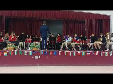 Deerfield beach middle school band
