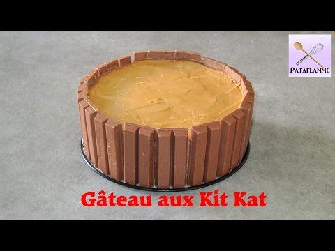 gâteau-aux-kit-kat---idée-de-gâteau-d'anniversaire-!