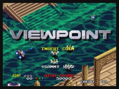 ArcadiumStick: NEO-GEO AES VIEWPOINT gameplay sin morir 1coin NO DEATH