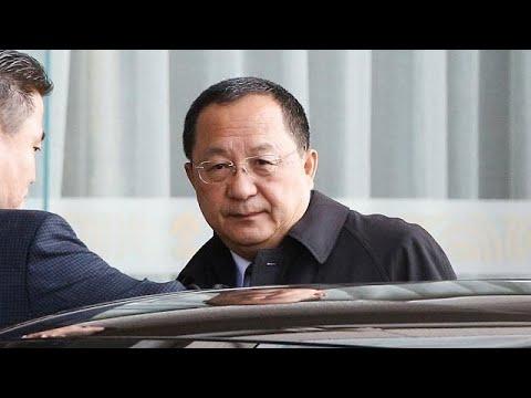 Kuzey Kore Dışişleri Bakanı Çin'de