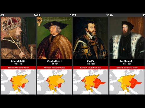Timeline Of The Rulers Of Germany