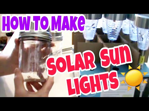 SHTF - PREPPER'S SOLAR SUN LIGHTS: Using the Sun for free energy!