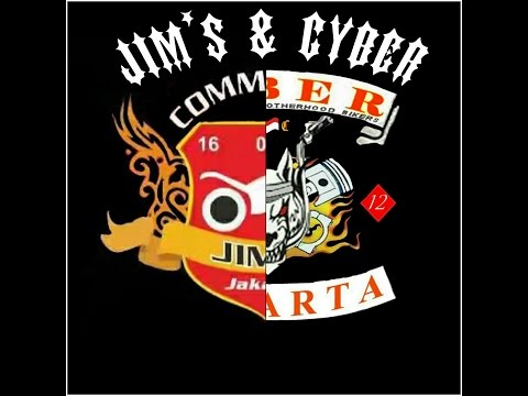 Bikers slide show JIM'S Jakarta and CYBER Jakarta