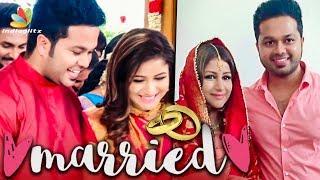 எங்களுக்கு கல்யாணம் ஆயிடுச்சு : Sanjeev & Alya Manasa got Married | Raja Rani Serial Actors Wedding